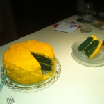2012 Birthday Cake