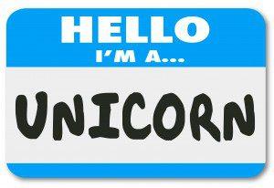 Hello I Am a Unicorn Rare Uncommon Great Worker